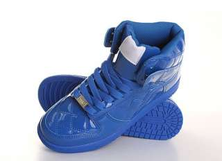Men High Top Sneakers Shoes Trainer Blue US 7~10