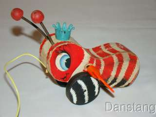 FISHER PRICE 1959 Queen Busy Bee / Queen Buzzy Bee #444