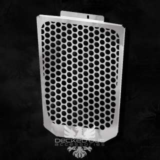Radiator Fire Flame Grille Grill M109 R Chrome Polished Stainless