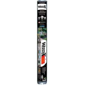 Weed X 3 ft. x 100 ft. Dalen Products Roll Landscape Fabric WX 100HD