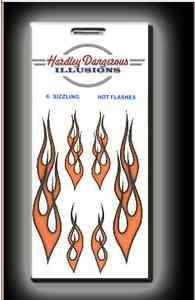 KitchenAid Kitchen Aid Stand Mixer Flame Decals Dark Outline 6 Decals