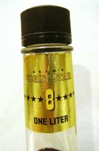 Jim Beam 8 STAR Bourbon Whiskey 1 Liter   RARE & DISCONTINUED