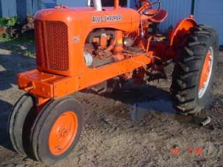 NICE WD WD45 ALLIS CHALMERS TRACTOR FRONT GRILL GUARD AC WD WD45