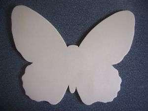 großer Schmetterling aus Holz zum selber gestalten
