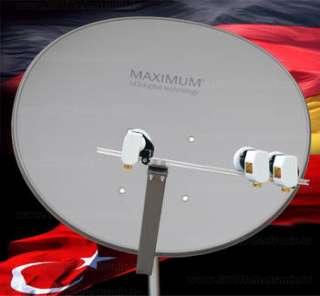Multifocus Maximum T 85 SAT Spiegel Schüssel Turksat Astra in