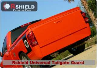 Clear Tailgate Truck Paint Protection Guard Film Dodge