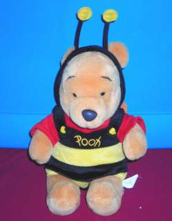 DISNEY WINNIE THE POOH JUMBO BUMBLE BEE COSTUME 15 PLUSH TOY