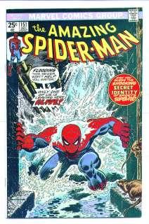 December 1975) AMAZING SPIDER MAN #151, Marvel Comics