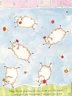 Dayspring Christian Wooly Little Lamb Phrases Stickers