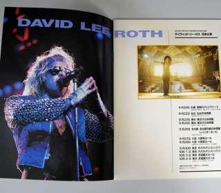David Lee Roth Skyscraper Tour 1988 Japan Program Book