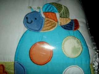 In The Pond 3pc Baby Bedding Crib Set Infant Duck Turtle Snail