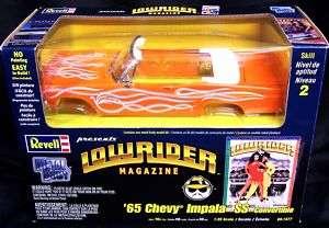 LOWRIDER MAGAZINE 1/25 1965 Impala Convertible Diecast 031445015779