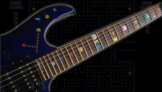 Pacman Fret Markers Inlay Sticker Decal Guitar Bass