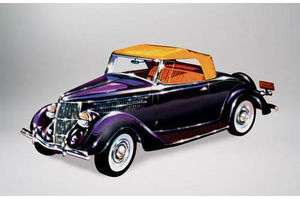 Lindberg 1:32 1936 Ford Roadster Plastic Authentic Scale Model Kit