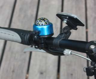 Blue Compass Bicycle Bike Bell Handlebar Ring Horn MTB