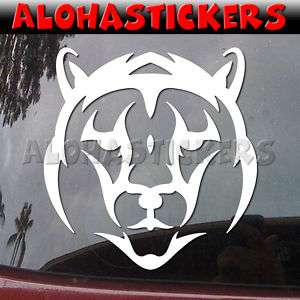 TRIBAL TIGER HEAD Vinyl Decal Car Window Sticker T87