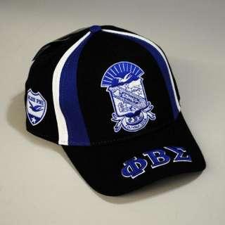 PHI BETA SIGMA Baseball Cap & Hat NWT BLUE & BLACK