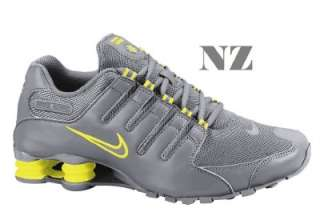 Nike Shox Grey And Purple
