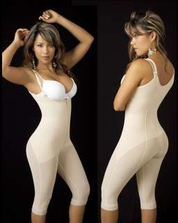 Full Body Shaper Powernet, Capri Style, Lipo Sculture, Size Reducer