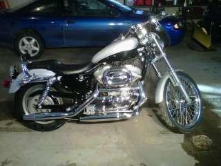 03 Harley Davidson 1200 Sportster Complete Engine, Bobber Chopper