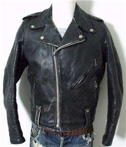 Harley Davidson Black Leather Early Cycle Champ Style Motorcycle