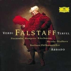 Verdi Falstaff (Gesamtaufnahme) Abbado, Bp, Terfel, Giuseppe Verdi