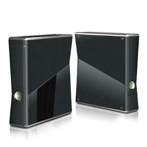 Xbox360 S modding Designfolie Xbox 360 Slim Gehäuse Skin   Carbon