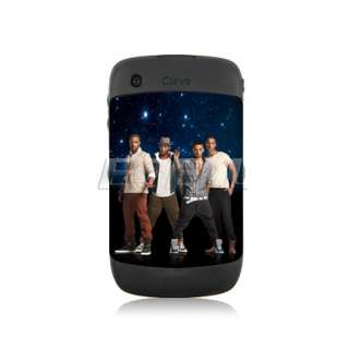 BOY BAND BATTERY BACK COVER CASE FOR BLACKBERRY CURVE 8520 9300