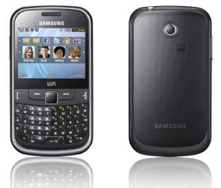 BRAND NEW SAMSUNG CHAT S335 BLACK MOBILE PHONE UNLOCKED 8806071361642