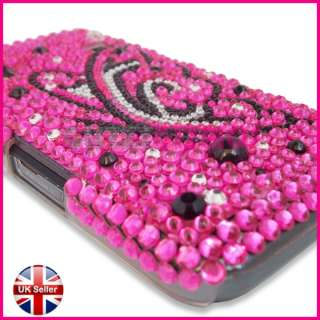 SAMSUNG GALAXY ACE S5830 BLING DIAMOND GEM CASE COVER