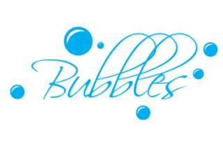 Bubbles Bath Vinyl Wall sticker decal quotes