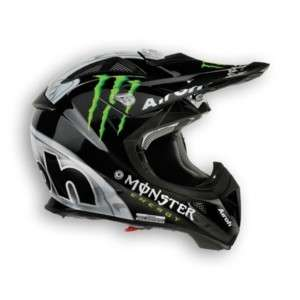 CASCO CROSS ENDURO QUAD AVIATOR MONSTER BLACK L AIROH