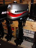 MERCURY MARINER 4 hp Stroke Outboard Engine Motor LONG