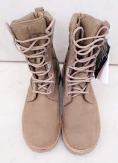 Genuine British Army Desert Assault / Combat / Patrol Boots, Dark Tan