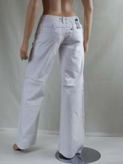 pantalon blanc femme G STAR RAW taille jeans W 26 T 36