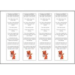Early Years P Level Reading Bookmarks Teaching Resource