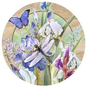COASTERS GARDEN ACCENTS   DRAGONFLY & IRIS I: Kitchen & Dining