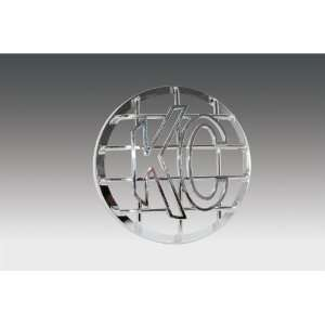KC HiLites KCH 7211 Stone Guard Chrome High Impact ABS Plastic 6 in
