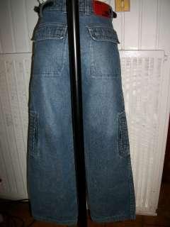 pantalon jeans TONY HAWK QUIKSILVER 14 ans délavé