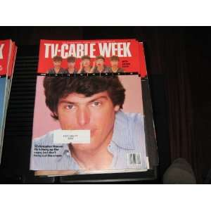 TV Cable Week Magazine (Christopher ReeveSuperman , MTV