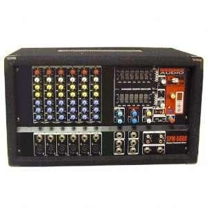Nady SPM 6600 6 Channel Powered Amplifier Electronics