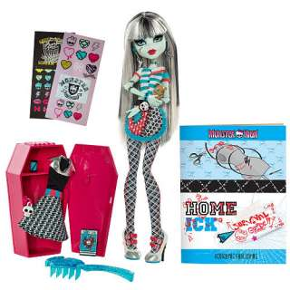 Monster High Classroom Doll   Frankie Stein   Mattel 1001134