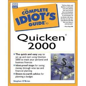 Complete Idiots Guide to Quicken 2000 (The Complete Idiot