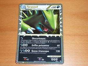 CARTE POKEMON ULTRA RARE TYRANOCIF 88/95 VF