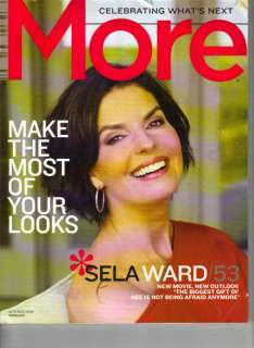 SELA WARD More Magazine 10/09 CAROL ALT