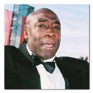 Michael Clarke Duncan Color Box Canvas Print Gallery Wrapped