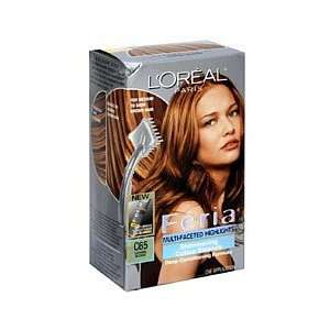 Loreal Feria Multi Faceted Highlights #C65 Caramel Blonde