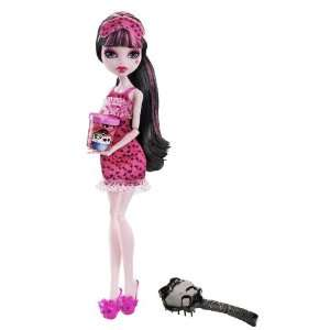 Monster High Dead Tired Draculaura Doll Toys & Games