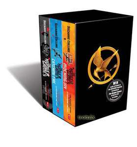 Catching Fire Mockingjay Books Collection Suzanne Collins Set