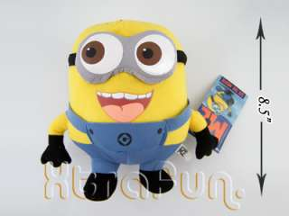 DESPICABLE ME 3D MINION JORGE PLUSH DOLL SOFT TOY U.K